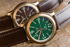 Pinion Axis Bronze watches
