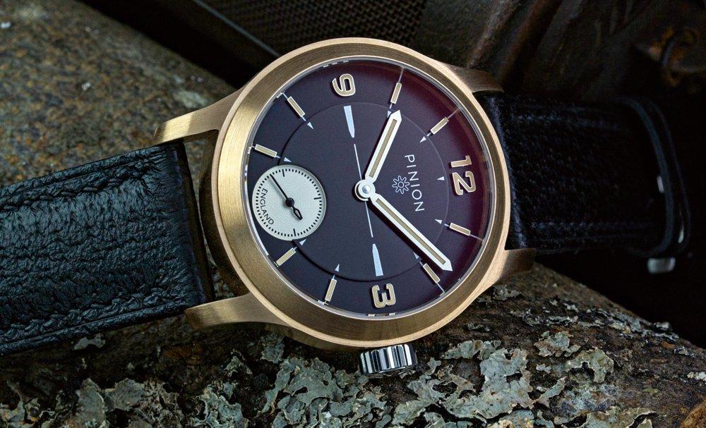 Pinion Pure Bronze L.E. Watch